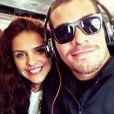 Paloma Bernardi negou término de namoro com Thiago Martins