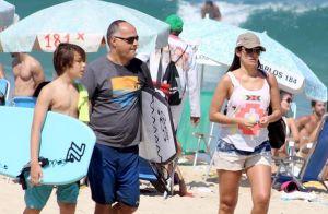 Patricia Poeta e Amauri Soares seguem usando aliança após suposta separação