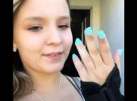 Larissa Manoela imobiliza a mão durante férias em Orlando: 'Nada demais'. Vídeo!