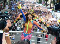 Look de Anitta no Bloco das Poderosas vira meme e web detona: 'Mal vestida'