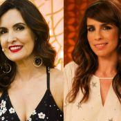 Fátima Bernardes fica sem graça após elogio: 'Depois que separou tá uma loucura'
