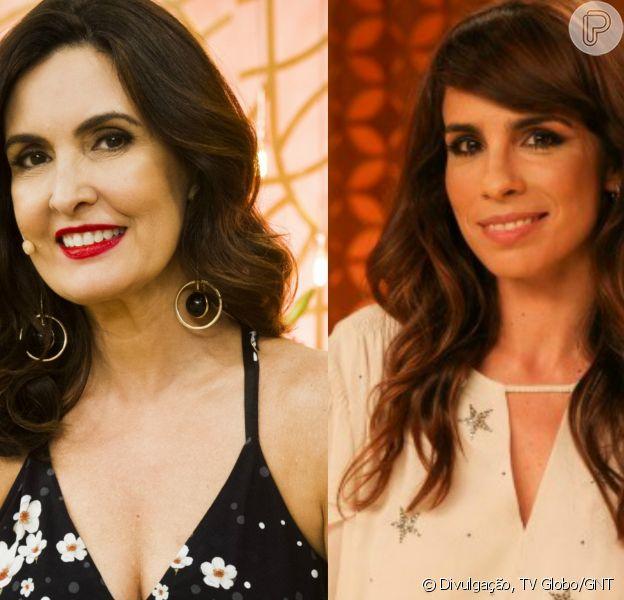 Fátima Bernardes ficou sem graça com fala de Maria Ribeiro no 'Encontro' desta segunda-feira, 6 de março de 2017: 'Depois que separou está uma loucura'