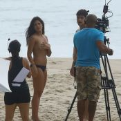 Antonia Morais usa truque para gravar cenas de topless em 'Rock Story'. Fotos!