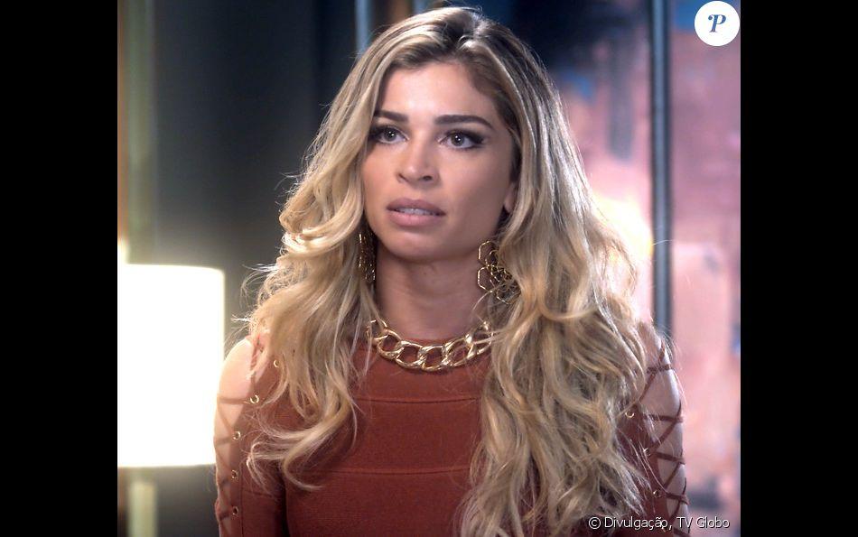 Luciane (Grazi Massafera) vai descobrir que Hércules ( Danilo Granghéia) foi cúmplice de Magnólia no assassinato de Carmem e vai pedir a separação em 'A Lei do Amor'