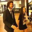 Antes do passeio no shopping, Mayla e Diego fizeram um passeio de helicóptero pelo Rio de Janeiro