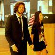 A ex-participante do 'Big Brother Brasil', no entanto, negou namoro com o empresário em entrevista ao Purepeople: '  Eu estou solteira'