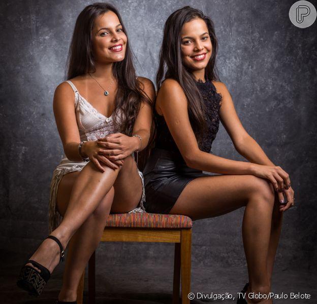 Ainda na casa do 'Big Brother Brasil 17' Emilly recebeu convite para posar nua ao lado de Mayla