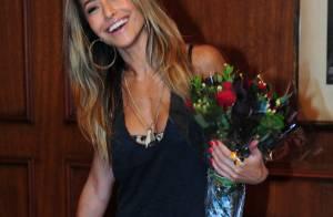 Sabrina Sato e Ticiane Pinheiro prestigiam aniversário da modelo Lea T, em SP