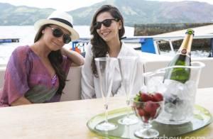 'Em Família': veja fotos de Clara e Marina durante viagem para Angra dos Reis