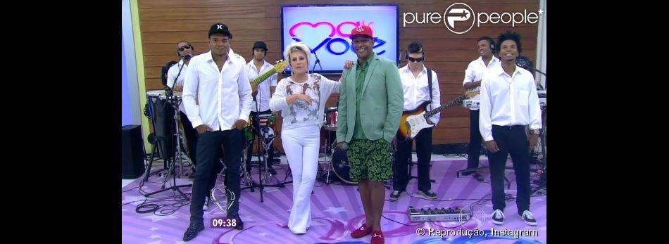 Márcio Victor, cantor da banda Psirico, diz à Ana Maria Braga que hit 'Lepo, lepo' será adotado por Neymar n