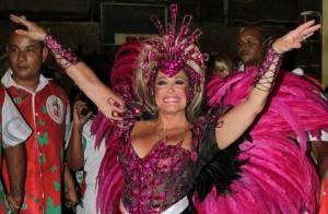 Susana Vieira sobre boa forma e pique para desfile da Grande Rio: 'É a genética'