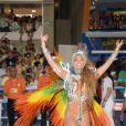 Jessica Maia desfila pela Mocidade Independente de Padre Miguel
