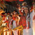 Imperatriz Leopoldinense é a quarta a desfilar no segundo dia de desfiles do grupo especial na Marquês de Sapucaí, no Rio de Janeiro, em 4 de março de 2014