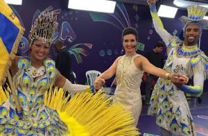 Fátima Bernardes e famosos celebram vitória da Unidos da Tijuca no Carnaval 2014