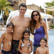 Márcio Garcia é papai pela 4ª vez! Andréa Santa Rosa dá à luz um menino