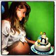 A atriz confessou à colunista Patrícia Kogut, do jornal 'O Globo', que deixou alguns preparativos para a chegada do bebê pra última hora: ' Foi uma loucura e correria para aprontar tudo'