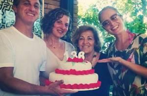 Luciano Huck e Angélica comemoram aniversário das mães com piada: 136 anos