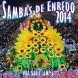 O CD com os 'Sambas de Enredo 2014' ficou na 14ª posição entre os mais vendidos