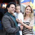 Arthur, de dois anos, é fruto do relacionamento de Eliana e João Marcelo Bôscoli