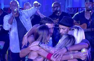 'BBB14': Thiaguinho canta em festa e diz para Angela que ainda não casou