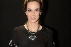 Ana Furtado entra na moda do moletom para ver desfile na SPFW