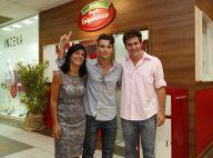 Bruno Gagliasso reúne amigas famosas em inauguração de restaurante da família