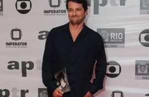 Maitê Proença, Marcelo Serrado e famosos vão a prêmio de teatro no Rio