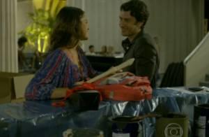 'Em Família': Luiza e Laerte se encontram de novo após beijo. 'Você quer outro'
