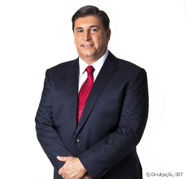 Carlos Nascimento foi escalado pelo SBT para comandar os debates das eleições deste ano