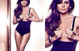Giovanna Antonelli faz topless em ensaio para campanha de lingerie