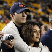 Ashton Kutcher e Mila Kunis serão papais de uma menina: 'Está amando'