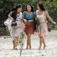 Andreia Horta também se destacou no humor ao lado das atrizes Daniela Fontan e Carol Castro em 'Amor Eterno Amor'