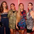 Grazi Massafera, Juliana Paes, Sabrina Sato e Camila Coutinho atraíram olhares ao chegarem a São Paulo Fashion Week nesta quarta-feira, 30 de agosto de 2017