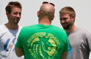 Vin Diesel posta primeira foto com irmãos de Paul Walker no set