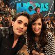 No ano passado, Fiuk e Sophia Abrahão cantaram juntos no 'Altas Horas'