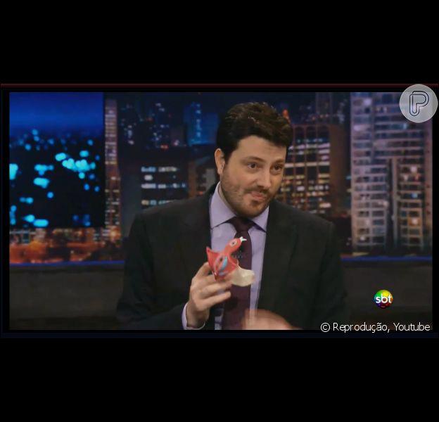 SBT negocia série política com o canal Fox e Danilo Gentili será protagonista