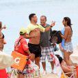 Ronaldo e Paula Morais se vestem