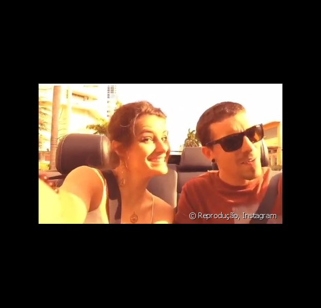 Di Ferrero e Isabelli Fontana estão curtindo férias em Miami, nos Estados Unidos