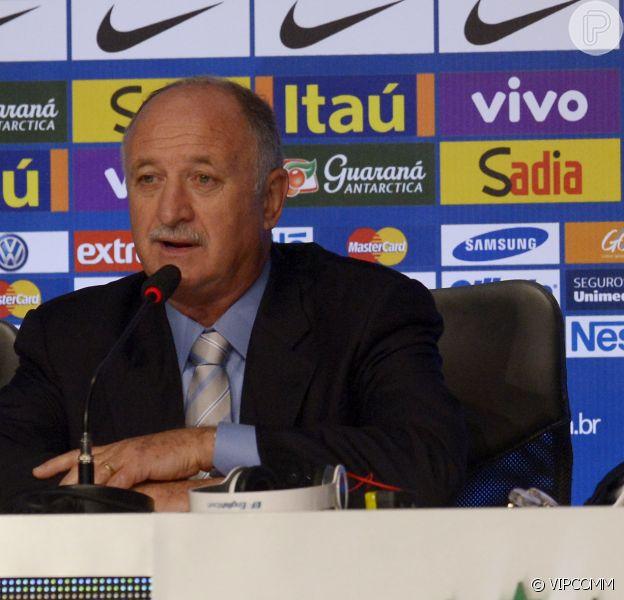 Luiz Felipe Escolari convocação da Seleção para a Copa do Mundo da Fifa do Brasil 2014, no Rio de Janeiro, em 7 de maio de 2014