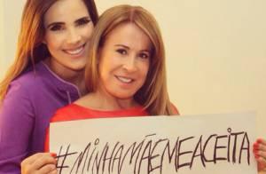 Grávida, Wanessa celebra Dia das Mães em campanha contra preconceito