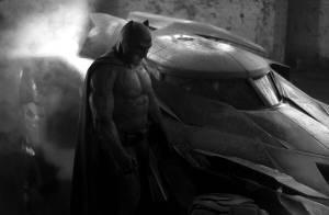 Ben Affleck surge pela primeira vez vestido como Batman