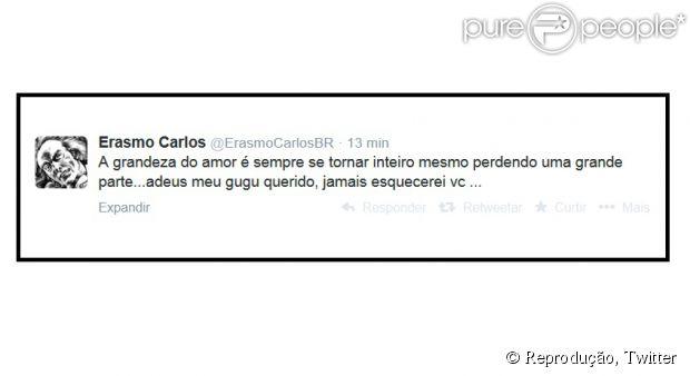 Alexandre Pessoal, filho de Erasmo Carlos, teve a morte cerebral diagnosticada nesta quarta-feira (14 de maio de 2014)