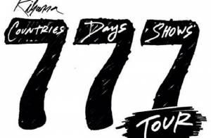 Rihanna divulga novo vídeo da turnê '777' e faz show em Londres