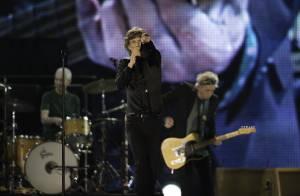 Mick Jagger, líder da banda Rolling Stones, se torna bisavô aos 70 anos