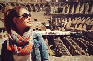 Paloma Bernardi visita pontos turísticos da Itália após Festival de Cannes 2014