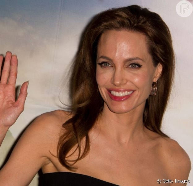 Angelina Jolie contou, em entrevista ao jornal britânico 'Daily Mail', que ficou muito feliz com o longa 'Malévola'