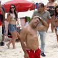 Ronaldo foi para Punta Del Eeste, no Uruguai, onde passou a virada do ano com um novo affair, a DJ Paula Morais