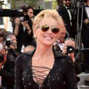 Sharon Stone vai de vestido curtíssimo ao red carpet em Cannes 2014. Veja looks!