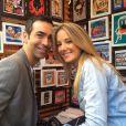 Ticiane Pinheiro se declara para o namorado, César Tralli: 'Eu ganhei um sorriso no rosto'