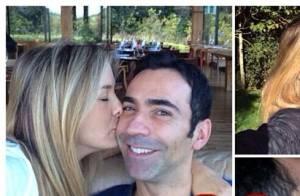 Ticiane Pinheiro comemora três meses de namoro com Cesar Tralli: 'Tão feliz'